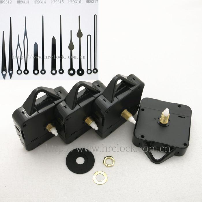 Wall Clock Battery Mechanism Hanger Clock Movement With Hands