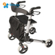 Economical aluminum handicap rollator walkers for disabled adults