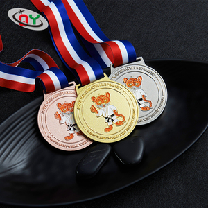 Free design cheap custom metal gold silver bronze running sports award medals