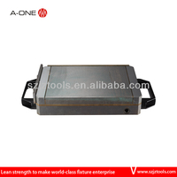 magnet with metal plate
