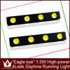 12V High Power 4W Car DIY Ultra-Thin Eagle Eye Lamp LED Daytime Running Light DRL Lamp Fog Light Waterproof Do Licence New