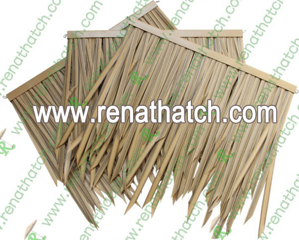 Artificial Thatch Rolls, African Synthetic Thatch, Artificial Roof Materials