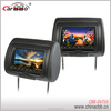 hot sale !!!Universal high quality Headrest 7 inch lcd headrest monitor with DVD player