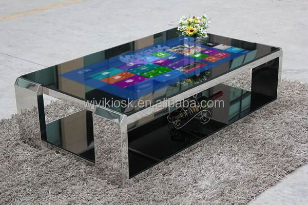 32 inch led desktop computer all in one wall mounted touch for Table basse tactile