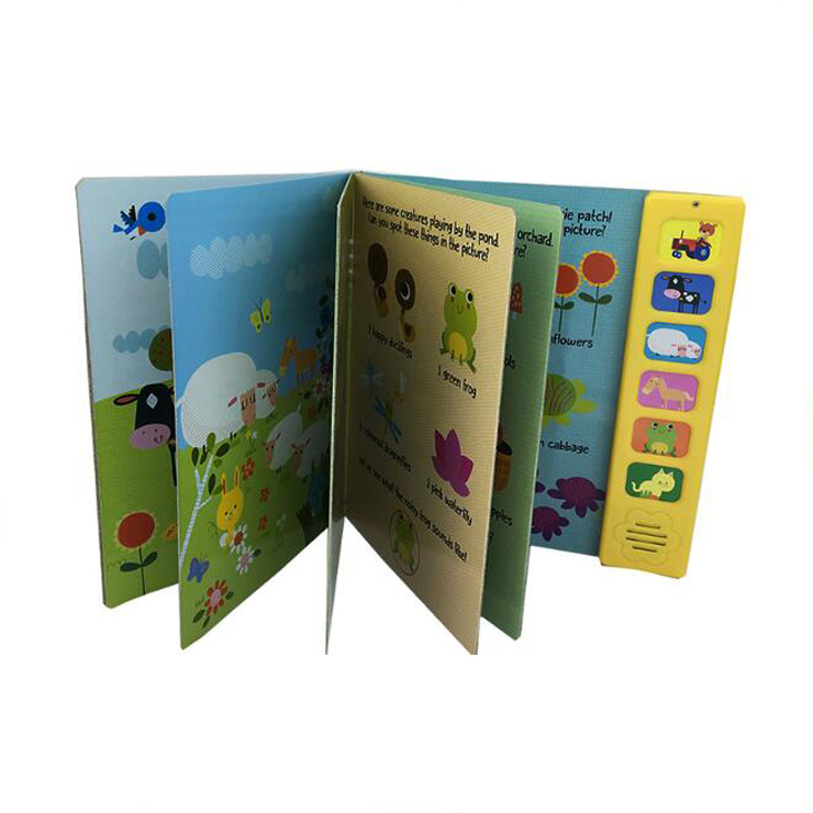 High Quality Factory Supplier Custom Kids Book Sound Module