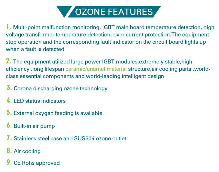 Medico De Dental Ozono Generador Air Purifier Machine