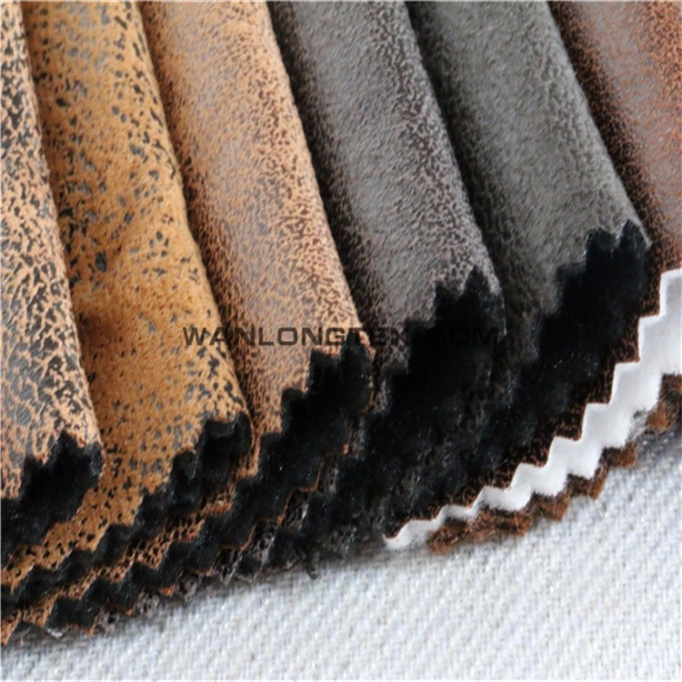 Faux suede fabric for sofa upholstery fabric