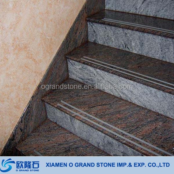 Natural Stone Granite Curve Handrail Sesame White 4/'x9/'/'x2/'/'