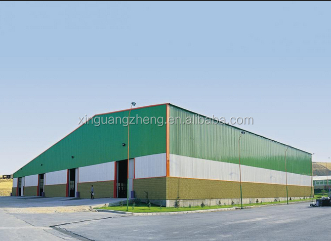 steel structure design construction auto warehouse design