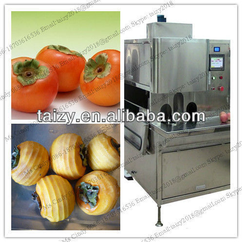 Automatic persimmon peeling machine/persimmon peeler with low price0086-15838061759