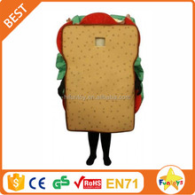 Funtoys CE Custom Fast Food Sandwich Carnival Mascot Costume