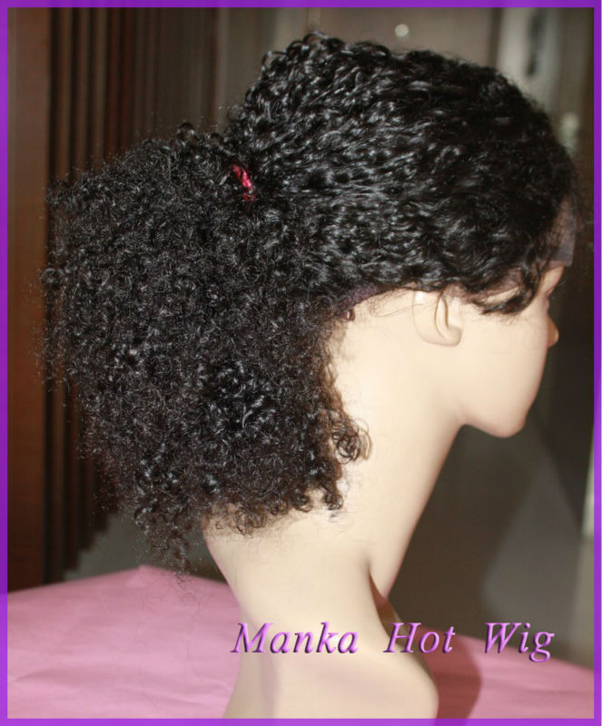 afro kinky curly full lace wigs with baby hair brazilian full lace wigs top  quality lace e55ab1b5f31a