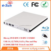 Cheaper high quality External USB 3.0 Blue Ray DVDRW/ DVD COMBO / CD RW Drive sata hard drives