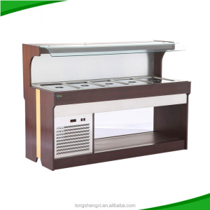 Catering Table /kitchen food freezer/fridge in kitchen