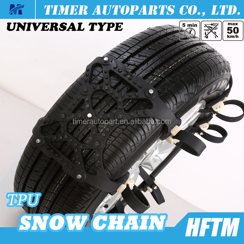 TPU Ice chains tire cables wheel chains tire chains