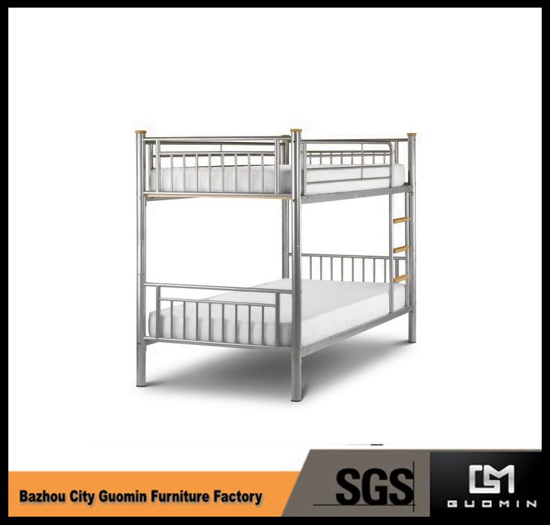 moderno de dos pisos cama de metal marco de la cama-Camas de metal ...