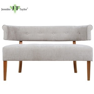 Living room seating furniture 2 seater sofa settee, shopping mall studio boutique loveseat settee chair