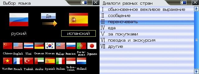 17 countrys langauges