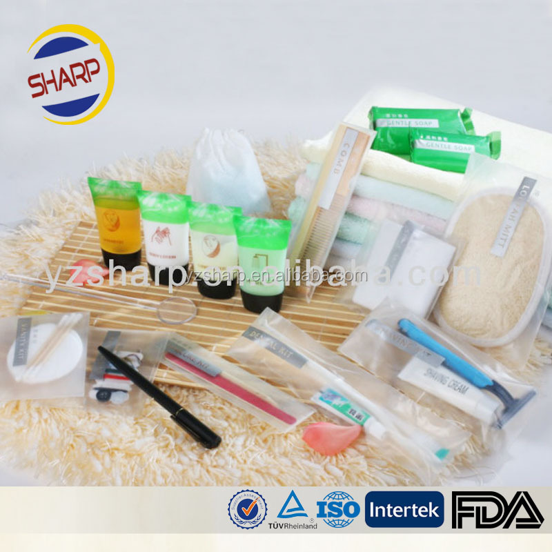 best hotel amenities toiletries packaging bag
