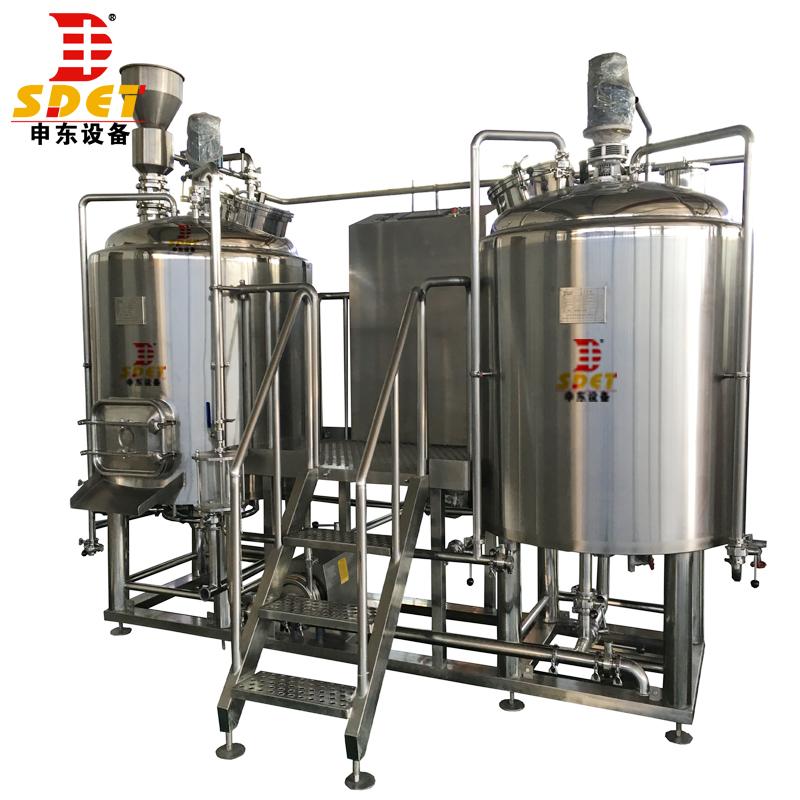 300L 500L 1000L turnkey industrial beer making machine