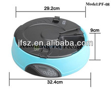 2014 Automatic pet feeder for sales for dog and cat with Built-in Microphone, Speaker (CE / RoHS)