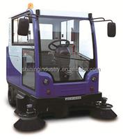 SIECC - electric wet floor cleaner, tow road sweeper/automatic floor sweeper/road sweeper truck
