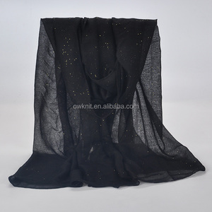 New Fashion Trend Plain Voile Scarf Hijab Wholesale Crinkle Hijabs Scarf