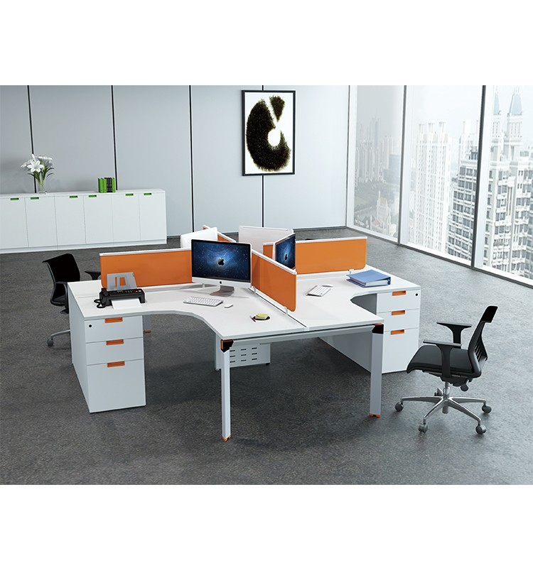 Venta directa de f brica 4 persona curvado cub culos de for Cubiculos de oficina