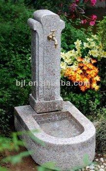 Granit Stein Künstlerische Garten Wasser Brunnen Becken