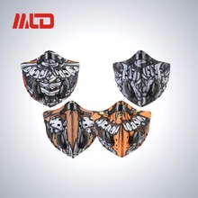 Hot sale custom printed dust outdoor sport bike neoprene face mask