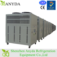 Industrial Air Cooled Water Chiller System Diagram