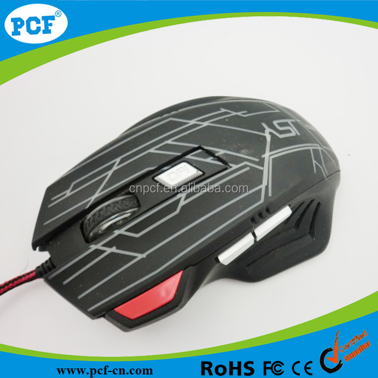 Gaming Mouse PC Laptop Desktop Laptop USB Wired Optical 6D 2400DPI Game Mice New