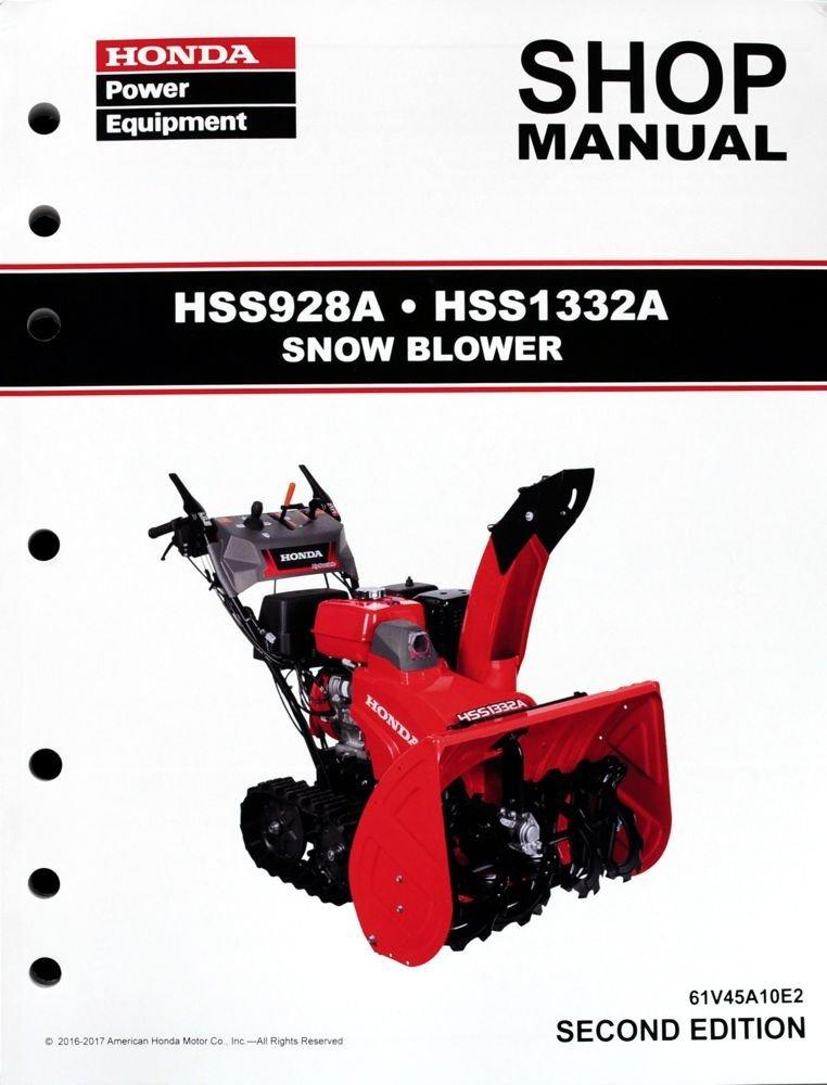 honda hs520 shop manual