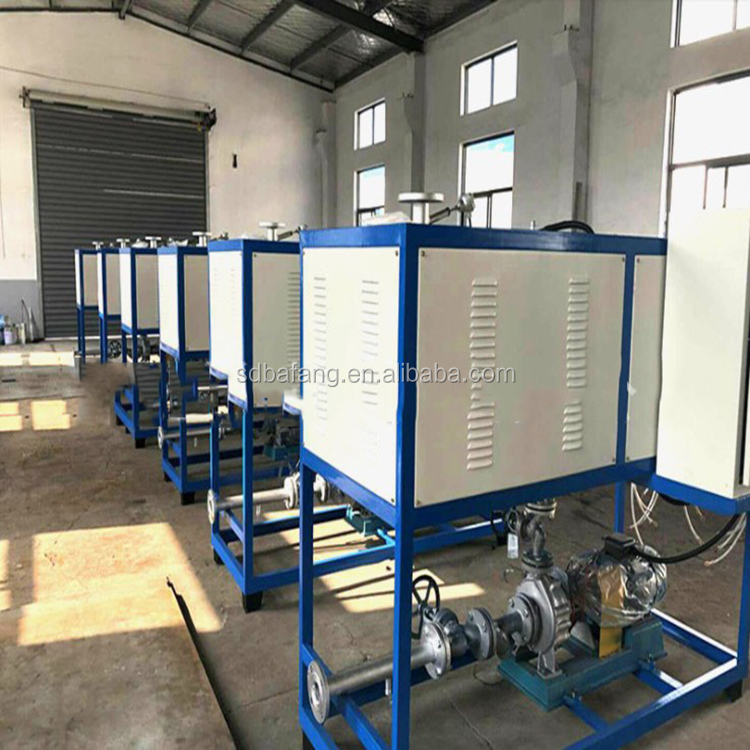 Electric heat conduction oil furnace