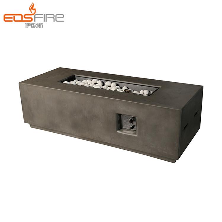 Eos Fire Outdoor Linear Fireplace Gas Deck Propane Fire Pit Burner