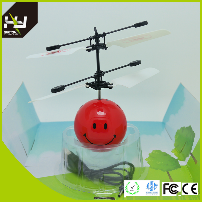 Infrared Induction Led Flying Toy Flying Ball Helicopter Led Glow Ball