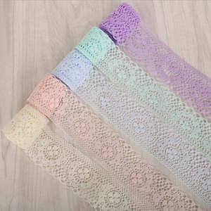 4CM wide elegant polyester lace underwear accessories clothing decorative fabric lace