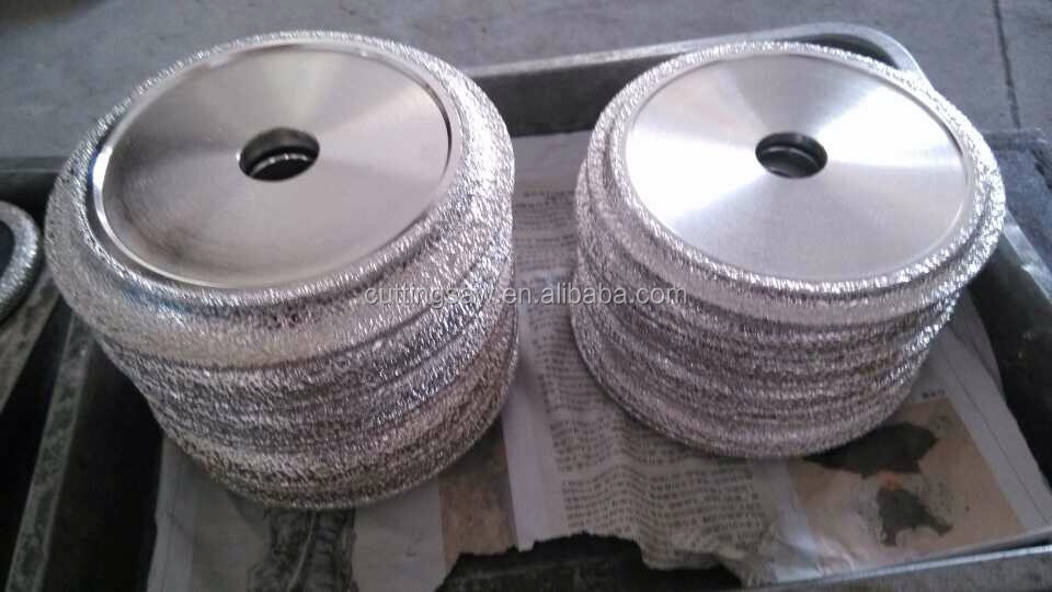 Soft Grinding Wheels Diamond V Shape Grinding Wheel