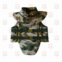 NIJ IIIA bulletproof tactical vest with neck groin protection