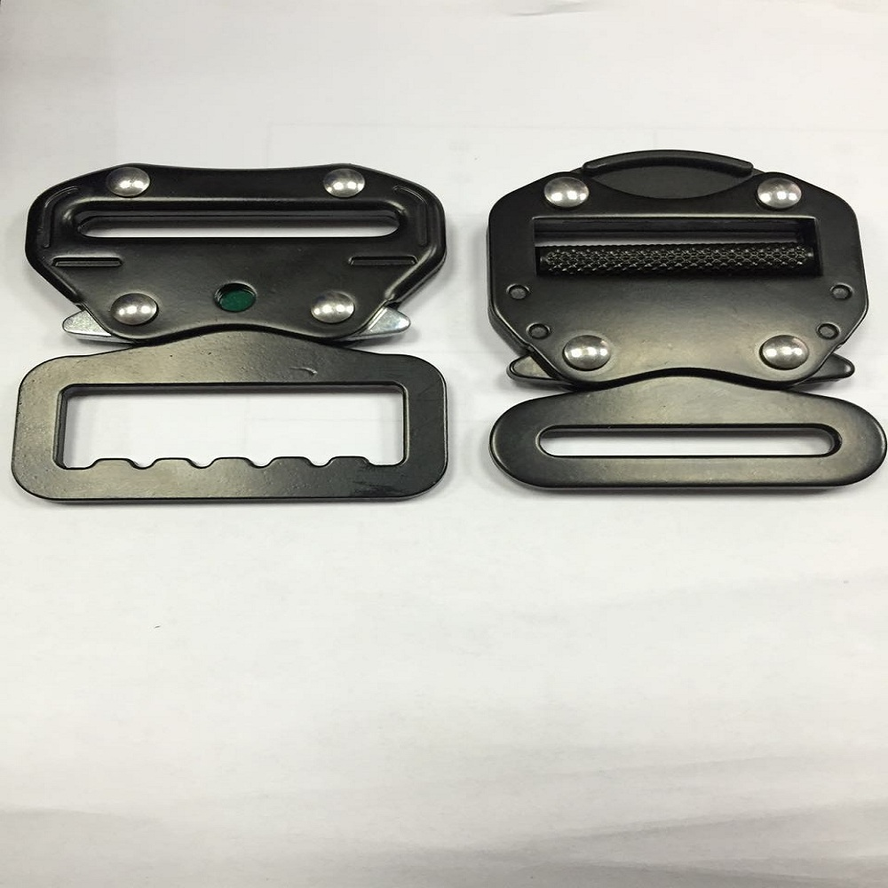 2'' / 50MM and 45MM black metal belt buckle blanks