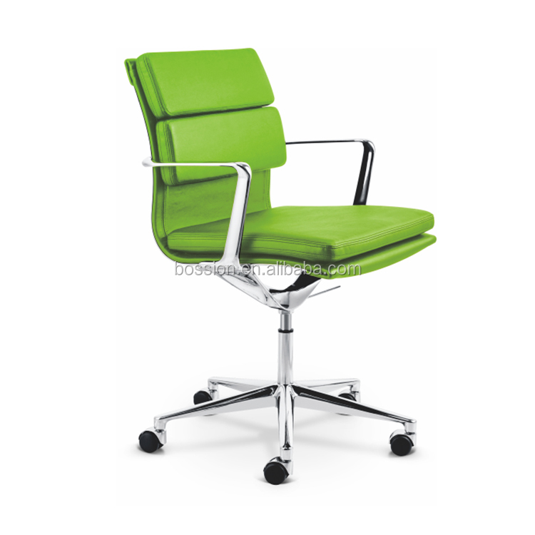 Bossion New Italy design softpad office leather chair
