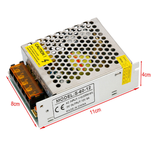 perfect ac dc switching power supply 12v dc 5a 60w power supply dc