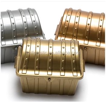 custom make plastic pirates treasure chest toy money boxoem design treasure chest shaped money