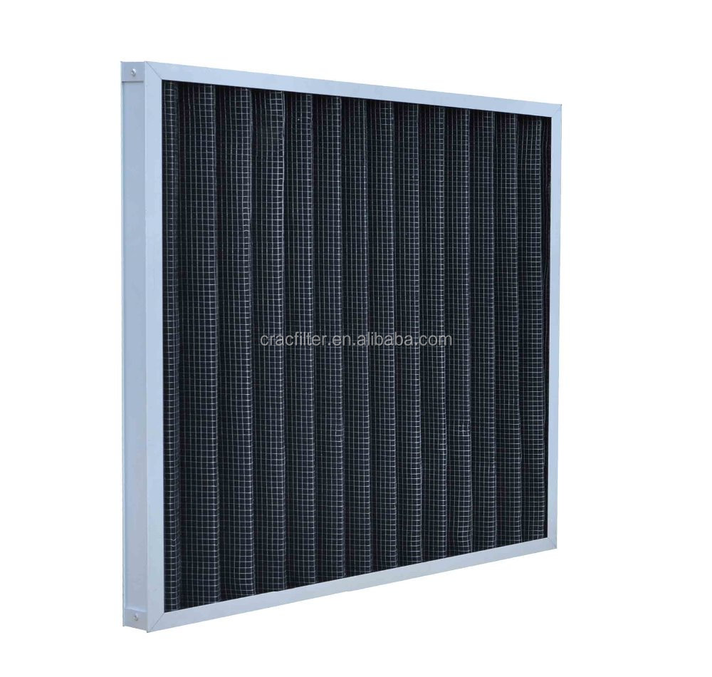 aluminum frame particle filtration activated carbon air filter