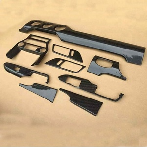 3K carbon fiber car parts car accessories interior for ford mustang
