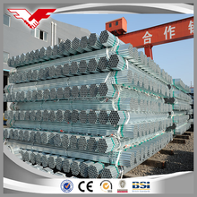 Round Section Shape and BS,BS 1387 Standard hot dipped galvanized rigid steel conduit pipe