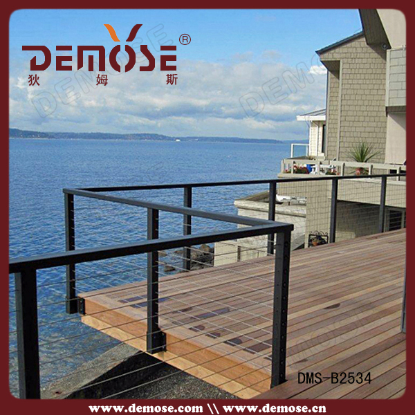 Metal Deck Railing Systems/steel Railing Parts/steel Cable Deck ...