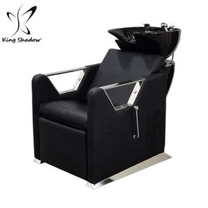 Kingshadow hair salon massage chair used shampoo bowls backwash shampoo units