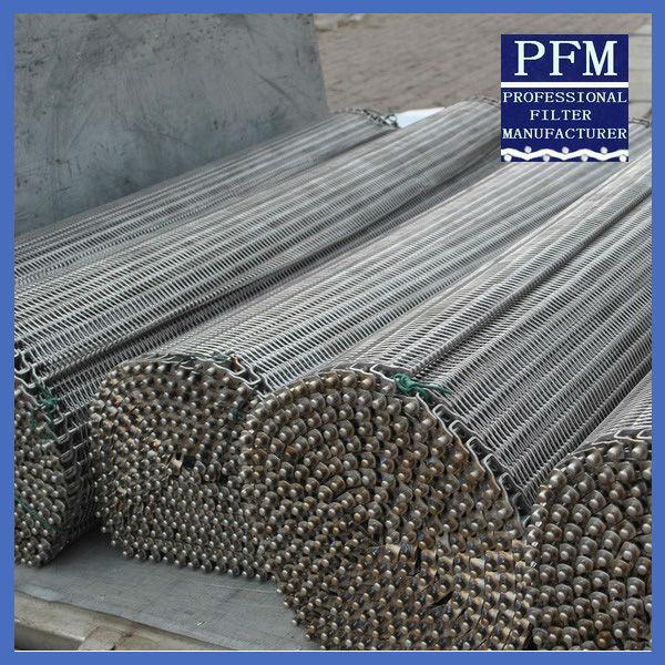 304 316 310 430 Stainless Steel Wire Mesh Conveyor Belt