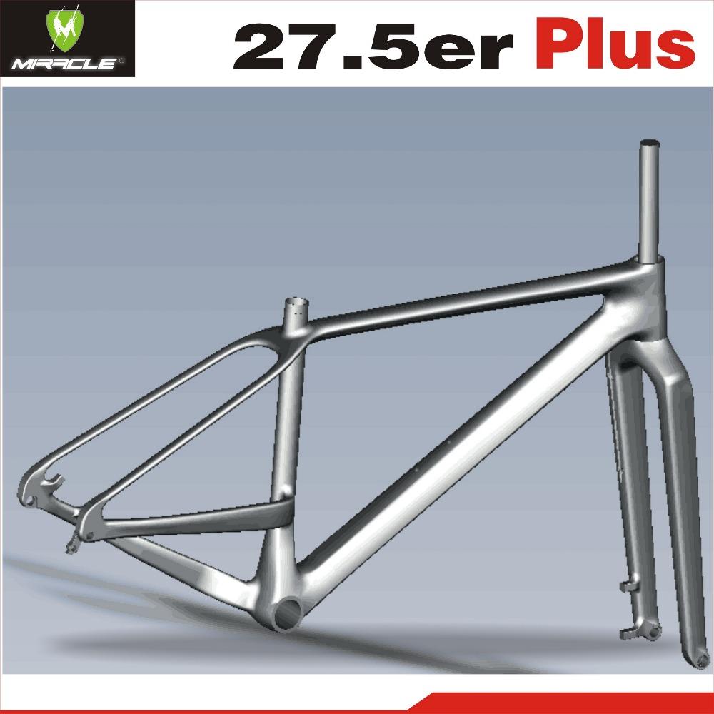 Wunder Bike 650b Plus Kohlenstoff Mtb Fahrradrahmen Gabel ...